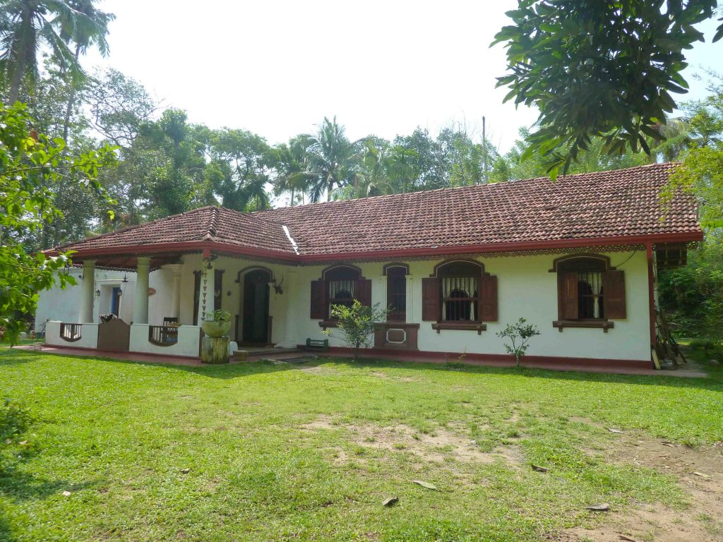 Antique house in tranquil area