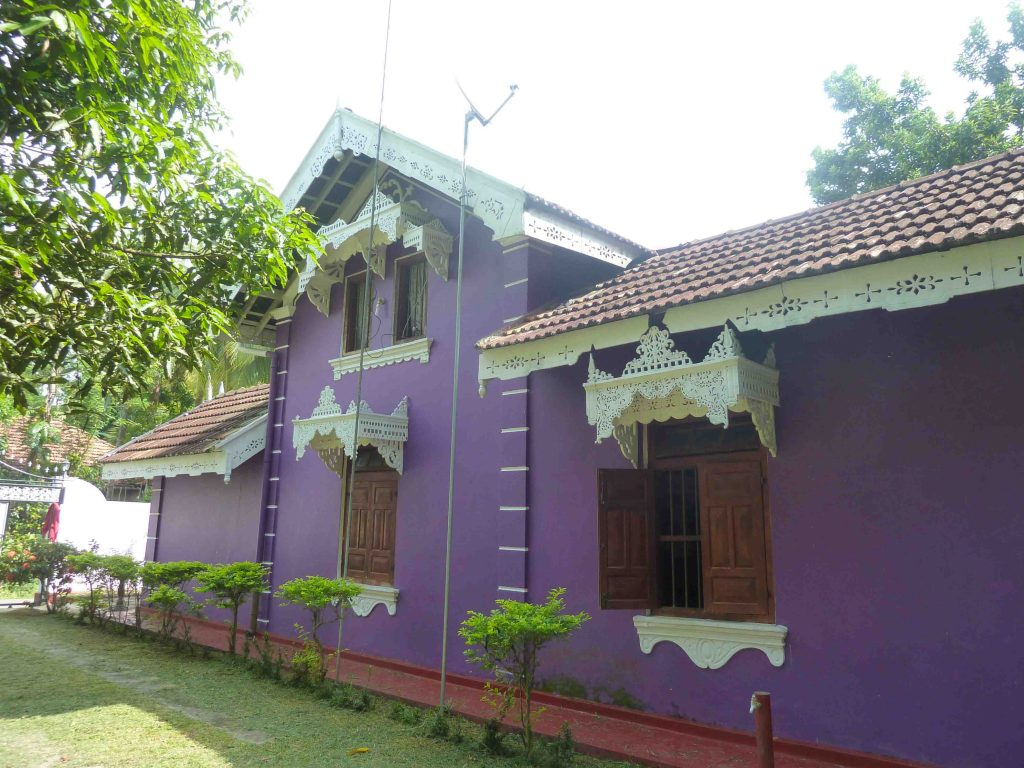 Antique house in peaceful area