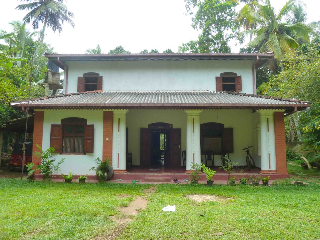 Colonial house in tranquil area