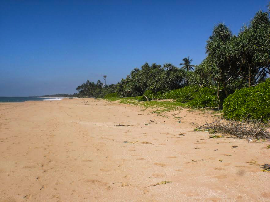 Perfect Beach Plot with Lagoon Views