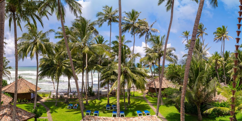 Well established hotel on the most expensive and popular beach in Sri Lanka for sale