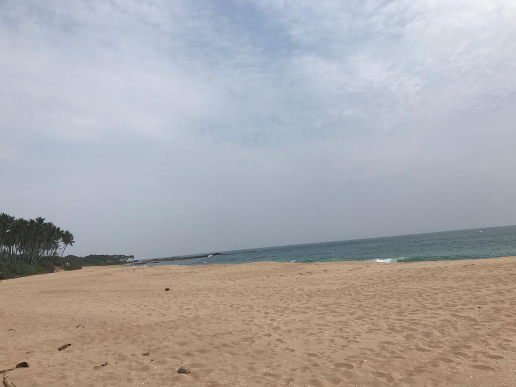 Perfect beach plot on untouched beach